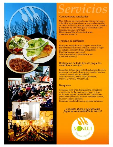 SERVICIO A EMPRESAS :: La Cocina de Paquita